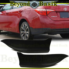 For 2014 2015 2016 2017 2018 2019  TOYOTA COROLLA Rear Bumper Body Kit Lip 2 pcs