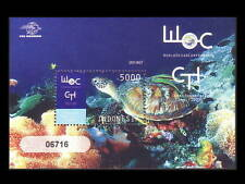 Indonesia 2009 MNH SS, World Ocean Conf., Turtles,  Marine Life  - D3