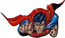 89043 Superman Flying At You Man Of Steel Superhero DC Comic Badge Iron On Patch