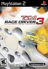 BRAND NEW SEALED PS2 Racing Game - ToCA Race Driver 3 (Sony PlayStation 2, 2006)