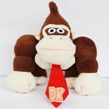 "Donkey Kong Super Mario Bros Game Monkey Plush Soft Toy Stuffed Animal Doll 8.5"""