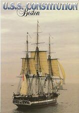 "Ships Postcard - U.S.S. Constitution [""Old Ironsides""] Boston Harbor  CC192"