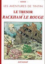 TINTIN LE TRESOR DE RACKHAM LE ROUGE INTEGRALE  LE SOIR NOIR ET BLANC