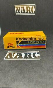 Kodak Gold 200 126 Expired film 24 exp kodak  pocket