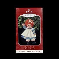 Hallmark Keepsake Mop Top Wendy Christmas Ornament Madame Alexander 1996