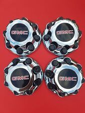 "4pcs. GMC Sierra Yukon VAN 1500 2500 3500 16"" Wheel  Center Caps Hub 8 Lug CAPS"