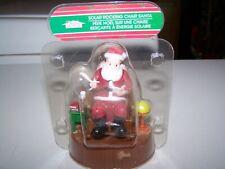 Solar Rocking Chair Santa
