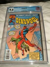 DEADPOOL 11 CGC 9.6 AMAZING FANTASY 15 COVER HOMAGE WHITE PAGES