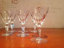 Waterford Crystal Sheila Liqueur Glasses X 6