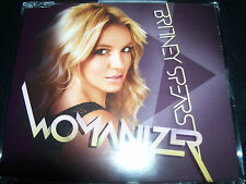 Britney Spears Womanizer Rare EU 2 Track CD Single