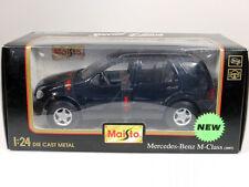 Maisto 51035 Mercedes MB M-Klasse M-Class W 163 1997 1/24 OVP SG 1401-10-07