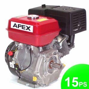 Benzinmotor Standmotor 15PS Industriemotor 01972 Kartmotor 4-Takt Motor 420cmm