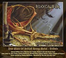 ROXXCALIBUR - Gems Of The NWOBHM CD 2015 Mythra Trespass Legend Fist Budgie