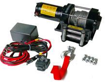 TREUIL ELECTRIQUE 12V 1360 / 2720KG 1000W, TREUIL A CABLE LONGUEUR 9.2M Ø5.5MM