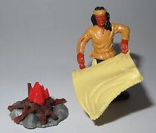 Timpo Toys Apache - smoke signal - Rauchmelder beige - unbespielt - TOP
