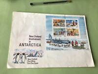 New Zealand 1984 Involvement in Antarctica FDC Stamps Cover Ref 52188