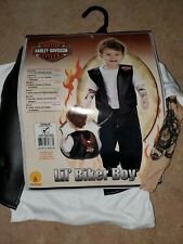 Harley Davidson Toddler Lil Biker Boy Costume (Vest, Shirt W Tattoo Sleeves).