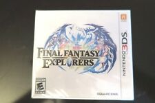 Final Fantasy Explorers (Nintendo 3DS, 2016) DS SEALED NEW