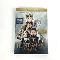 THE HUNTSMAN WINTER'S WAR EXTENDED DVD Brand New Sealed