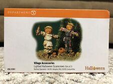 Dept 56 Original Halloween Accessory - Lighted Halloween Scarecrow #53061 Nib