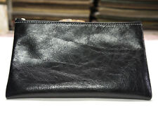 Leather Pouch Fine Quality Made in USA Black