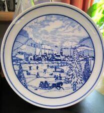 Sammel- & Zierteller aus Porzellan mit Teller der 50er- & 60er-Jahre für Weihnachten