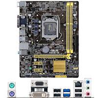 For ASUS H81M-E Intel Socket LGA 1150 uATX PC Motherboard DDR3 Mainboard