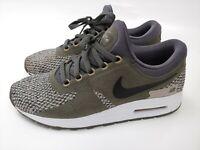 Girl's Nike Air Max Zero SE Shoes Size: 6.5Y Color: Cobblestone Gray 917864-005