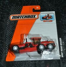MATCHBOX REAL WORKING PARTS MBX RED ROAD GRADER