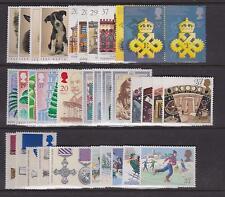 Graham BROWN-COMPLETA 1990 commemorativi anno impostato non montato Menta-Set (9) (ref.a2)
