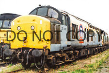 UK DIESEL TRAIN RAILWAY PHOTOGRAPH OF CLASS 37 LOCO 37232. RM37-814