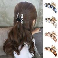 Women Fashion Korean Style Girls Hair Clips Claw Barrette Crab Clamp Hairpin 1Pc