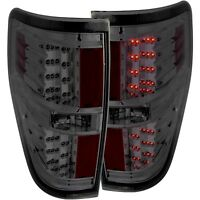 Anzo L.E.D Pair Tail Lights Smoke For 09-14 Ford F-150 #311170