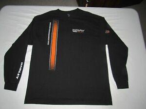 DSR Gray Motorsports NHRA Drag Racing Men's Oakley Black Shirt Size XL