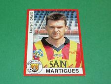 170 LAURENT DAVID FC MARTIGUES PANINI FOOT 95 FOOTBALL SAISON 1994-1995