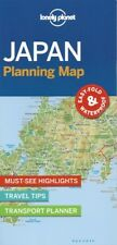 Lonely Planet Japan Planning Map *FREE SHIPPING - NEW*