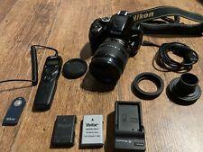 Nikon D5100 Camera With 18-70mm Lens + Extras
