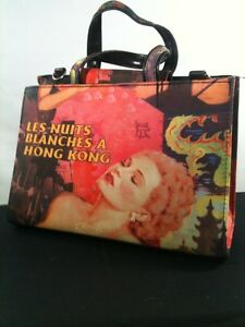 Purse Handbag Hong Kong Movie Dragons Arts Festival Nuits Blanches. Bag Snap.