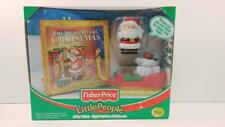 Vintage Fisher Price Little People Little Talker Night Before Christmas 74899