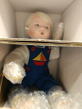 "Georgetown Collection ""Corey the Beachcomber"" Doll by Brigitte Deval Boxed NEW"