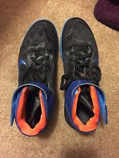 Men's Nike Air Max Fly By blue & black size 13 used once. In great condition!