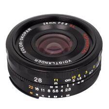 Manual Focus Standard SLR f/2.8 Camera Lenses