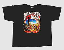Grateful Dead Shirt T Shirt Vintage 1990 Without A Net Rick Griffin Art Tiger XL