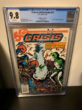 Crisis On Infinite Earths #10 CGC 9.8 NM/M Rare Canadian Price Variant DC