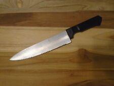"Farberware Chefs Knife, stainless steel blade Plastic Handle: 8"" Blade 5"" Handle"