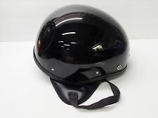 NOS Vintage Half  Helmet - XL - Bowl Flat Board Track Racer Motorcycle Scooter