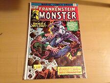 Frankenstein #17 (Jul 1975, Marvel)