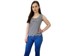 NEW EASY in stripes Custom Made Breastfeeding Nursing Top