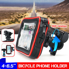 Mountain Bike Bicycle Waterproof Phone Case Holder Stand Frame Front Bag USA
