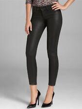 NWT J Brand 620 Super Skinny Mid Rise Jeans Black Lacquered Quartz Size 28